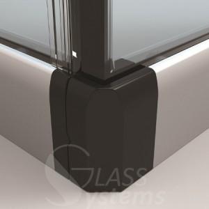 angle etanche rideau de verre