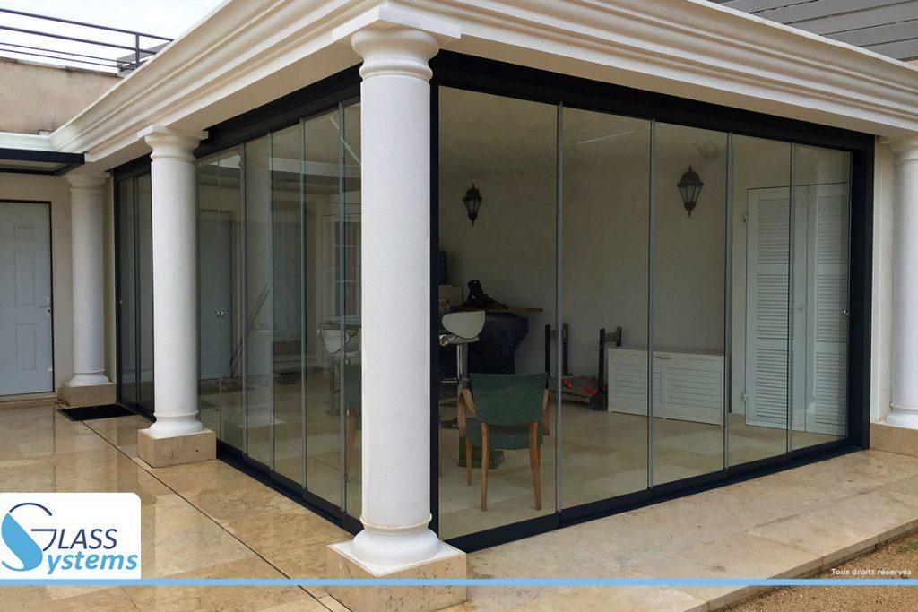 fermeture verre veranda