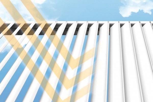 Protection solaire pergola