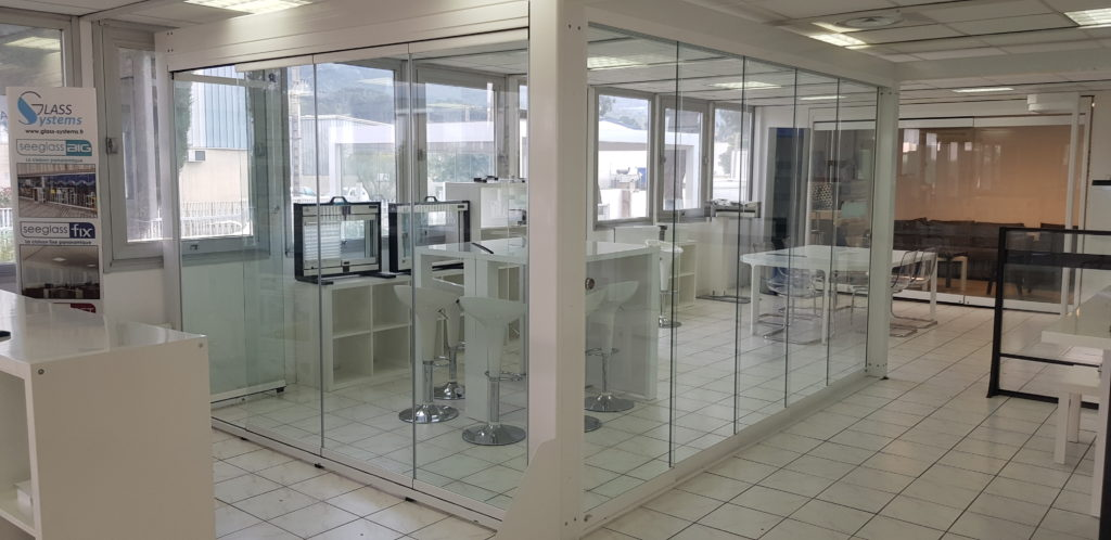 showroom aubagne glass systems