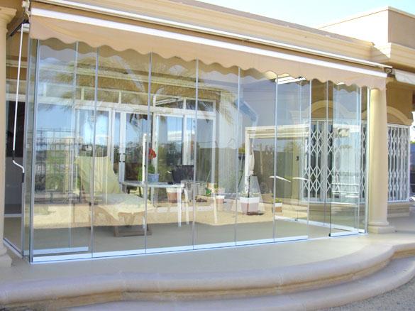 Veranda Terrasse Restaurant : Fermeture en verre terrasse et v u00e9randa nouvelle baie vitr u00e9