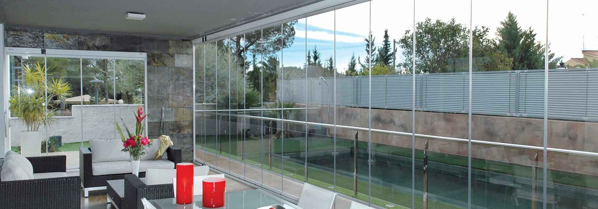 Systeme De Rideau Coulissant fermeture en verre seeglass max par glass systems