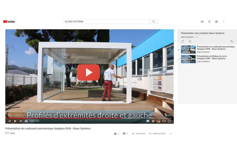 Deux nouvelles vidéos de présentation de produits