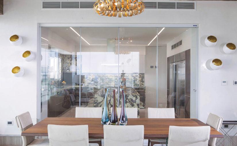 La cloison en verre : esthétisme et intimité pour votre espace