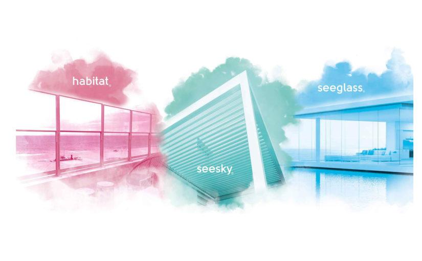 Glass Systems met de la couleur dans ses gammes de produits !