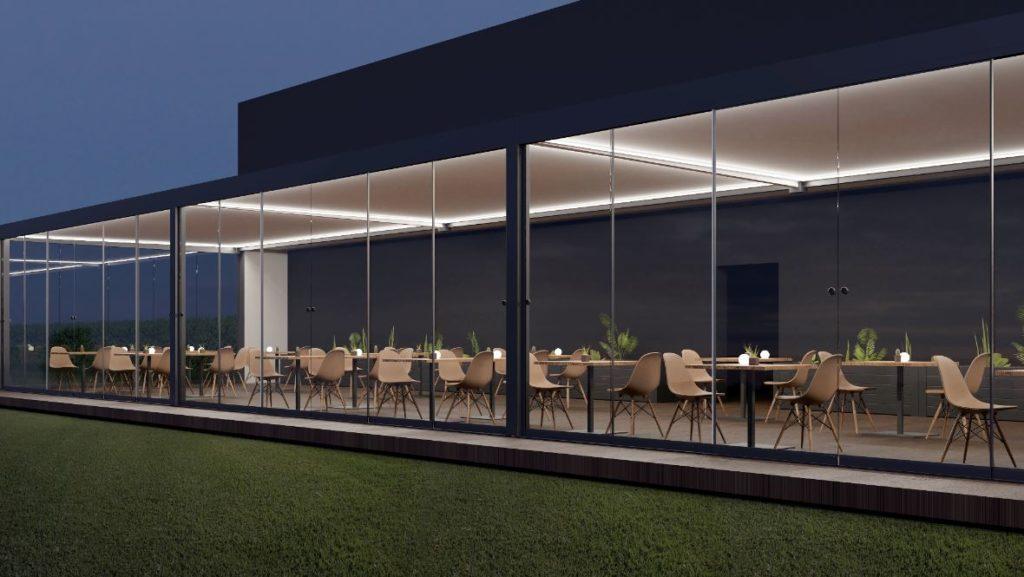 pergola terrasse restaurant