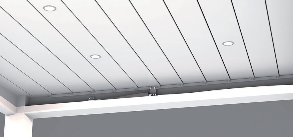 Eclairage spot LED pour pergola