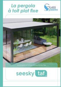 Catalogue Pergola à toit plat fixe Seesky TAF