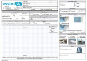 Formulaire devis commandes Seeglass BIG